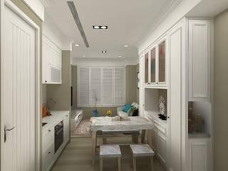 內湖翔譽愛力 根據 亞晨室內裝修設計工程有限公司 古典風