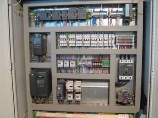 Instalação eléctrica por Portable Perspective Electrical Concept