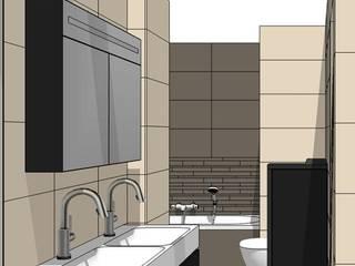 badkamerverbouwing Moderne badkamers van ontwerpburo rob guillonard Modern