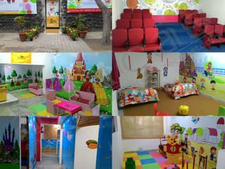 Bachpan Play School Minimalist schools by abacas : architects & interior designers Minimalist
