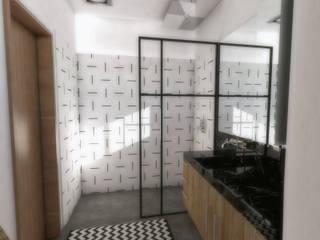 Baños modernos de TBS Arquitetura Moderno
