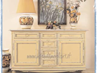 Mobili a Colori Mediterranean style dining room Wood Yellow