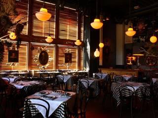 Restaurante Central Central TR arquitectos Gastronomía de estilo ecléctico