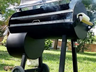 Ahumadoras, bbq smokers, Trailers, fumadores de Smoke Kit BBQ