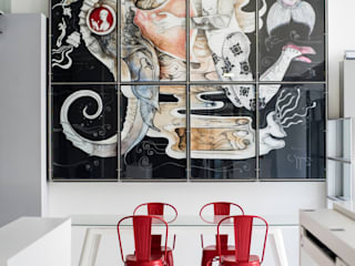 Showroom Caixilharia Finstral por Portwin Moderno
