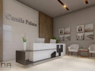 HOTEL CAMILA PALACE Casas minimalistas de ZONA DISEÑO Y CONSTRUCCION Minimalista