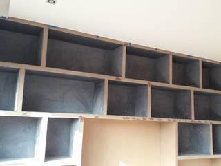 Librero con repisas Revestido de ACY Diseños & Muebles Moderno