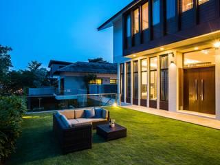 Trevose Crescent Modern garden by Summerhaus D'zign Modern