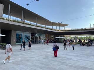Торговые центры в стиле модерн от Pizzul Srl Marmi Aurisina Модерн