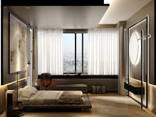 Modern style bedroom by WALL INTERIOR DESIGN Modern