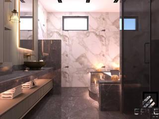 Acarkent'de eşsiz bir villa tasarımı Modern Banyo Erler Mimarlık Modern