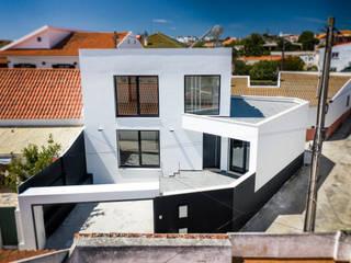 Vista geral de Moradia unifamiliar - Silveira Torres, Vedras por Decor-in, Lda Moderno