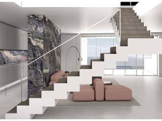 Marta Moreno Stairs Wood White