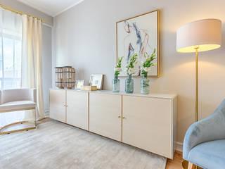 LojaQuerido by Ana Antunes Modern living room Grey