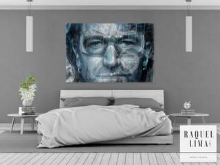 PERSONALIDADES BY RAQUEL LIMA RAQUEL LIMA ART ArteImagens e pinturas Algodão Azul