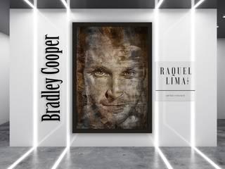 PERSONALIDADES BY RAQUEL LIMA RAQUEL LIMA ART ArteImagens e pinturas Castanho
