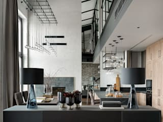 Industrial style kitchen by Rubleva Design Industrial