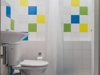 2017-03 Новоорловский 1 Ванная комната в стиле модерн от Елена Красовская Модерн