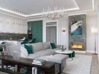 Klasik Oturma Odası Rubleva Design Klasik