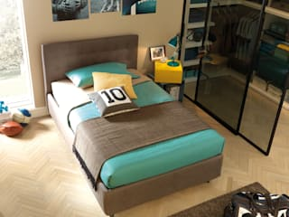 Modern style bedroom by Moretti Compact Modern