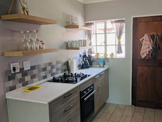 QUAINT KITCHEN MAKEOVER by Timid Tyger Kitchen Designs Classic