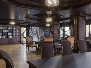 Oficinas y bibliotecas de estilo clásico de Lego İç Mimarlık & İnşaat Dekorasyon Clásico