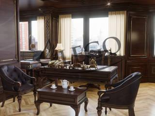 Büyükelçilik Makam Odası Klasik Çalışma Odası Lego İç Mimarlık & İnşaat Dekorasyon Klasik
