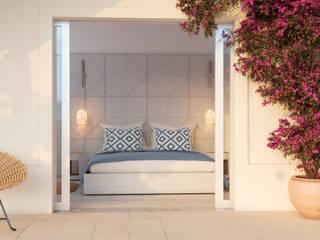 Mediterranean style hotels by Inlighted® Mediterranean