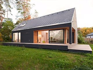 SOMMERHAUS PIU - YES WE WOOD Single family home Wood Grey