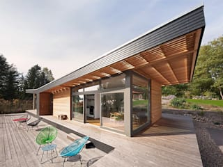 SOMMERHAUS PIU - YES WE WOOD Casas de madera Madera