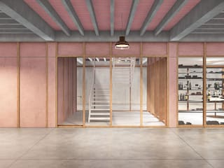 Country style wine cellar by LaBoqueria Taller d'Arquitectura i Disseny Industrial Country