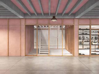Can Parxet, una bodega en Avinyonet del Penedès Bodegas de estilo rural de LaBoqueria Taller d'Arquitectura i Disseny Industrial Rural