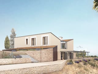 Country style houses by LaBoqueria Taller d'Arquitectura i Disseny Industrial Country