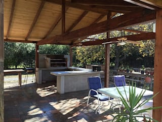 Country side Balcones y terrazas clásicos de Estudio 71 Arquitectos Clásico