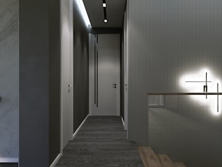 Koridor & Tangga Modern Oleh Murat Aksel Architecture Modern
