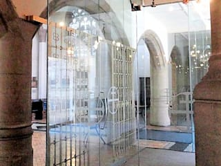 What a difference a door makes. Structural glass in heritage buildings Classic event venues by Ion Glass Classic