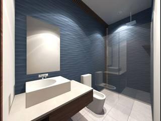 INTERIOR Baños modernos de Geometrica Arquitectura Moderno