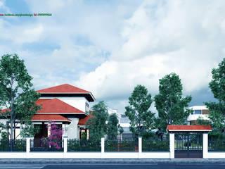 Biệt thự tại Quảng Trị bởi Công ty TNHH Thiết kế và Ứng dụng QBEST Nhiệt đới
