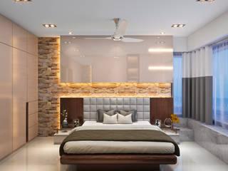 Moderne Schlafzimmer von ONYX DESIGNER STUDIO Modern