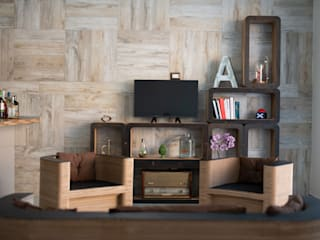 Sekkei Design Sostenibile Living roomSofas & armchairs Kertas Wood effect
