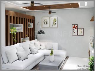 Living Room: modern  by I Nova Infra,Modern