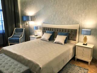 Modern Bedroom by АРХИТКЕТУРНОЕ БЮРО 'IKRA-DESIGN' Modern