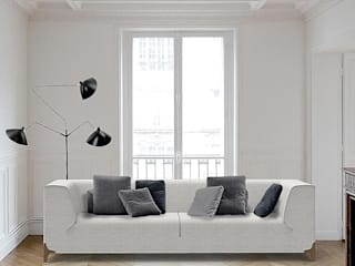 Canapé Montaigne par Imagine Outlet Moderne Textile Ambre/Or