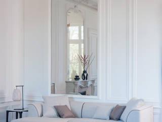 Canapé d'angle Montaigne par Imagine Outlet Moderne Textile Ambre/Or
