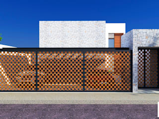 DLR ARQUITECTURA/ DLR DISEÑO EN MADERA Minimalist houses Stone