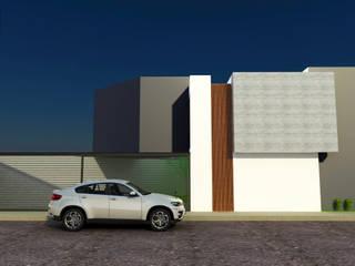 DLR ARQUITECTURA/ DLR DISEÑO EN MADERA Minimalistische Häuser Beton