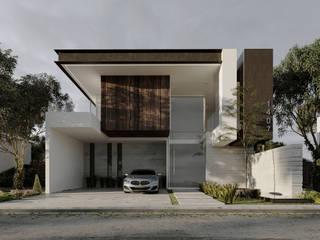 Construye la casa de tus sueños: el diseño perfecto para ti y tu familia. Casas modernas de Rebora Arquitectos Moderno