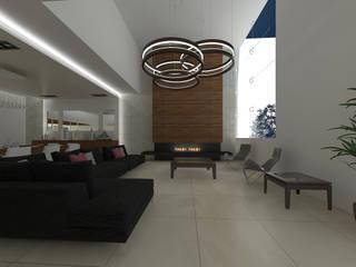 BTA DISEÑO Y CONSTRUCCION Moderne woonkamers