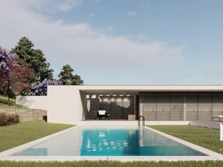 ARTEQUITECTOS Modern pool