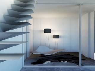 Habitação GF por ARTEQUITECTOS Moderno